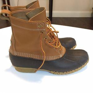 LL Bean Duck Boot Size 9